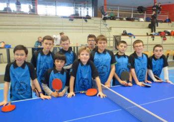 Tennis de table – Départemental équipe de 2